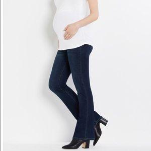 Indigo Blue PM Maternity Boot Cut Jeans